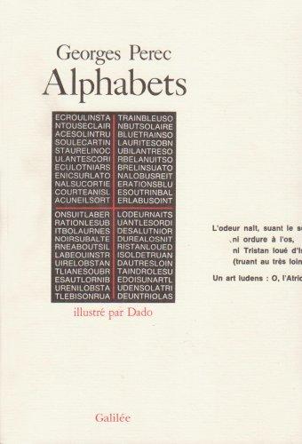 Alphabets: Perec, Georges