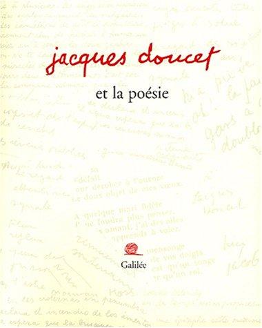 Jacques Doucet et la poésie: Andrée Doucet