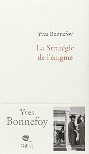 La Stratégie de l'énigme (2718607130) by [???]