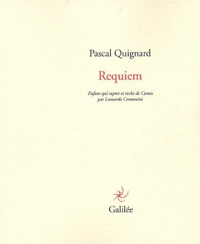 9782718607207: Requiem : Enfant qui repose et roche de Cumes par Leonardo Cremonini