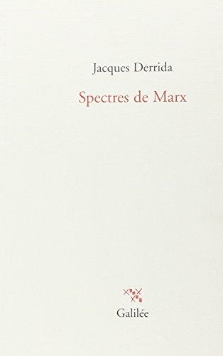9782718607320: Spectres de Marx : L'Etat de la dette, le travail du deuil et la nouvelle Internationale (La philosophie en effet)