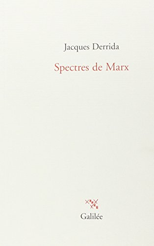 9782718607320: Spectres de Marx