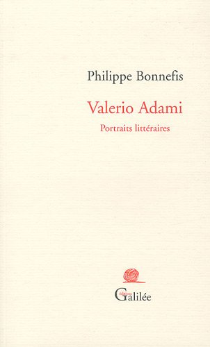 Valerio Adami: Portraits littéraires (2718608277) by Philippe Bonnefis