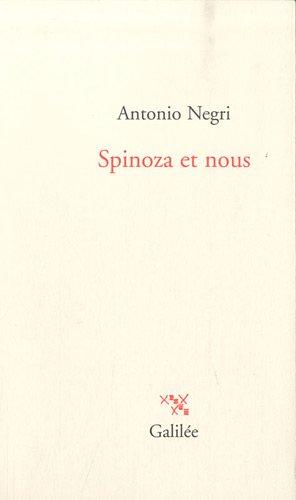 Spinoza et nous (271860834X) by Antonio Negri