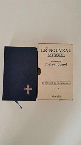 9782718900520: Missel de la semaine. texte liturgique officiel.