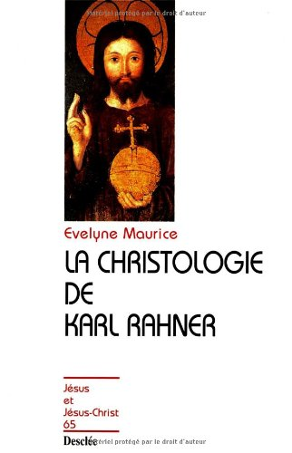 9782718906850: La Christologie de Karl Rahner