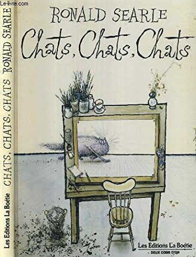 'CHATS, CHATS, CHATS' (2719204633) by RONALD SEARLE