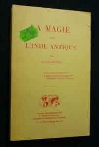 9782720010620: La magie dans l'Inde antique