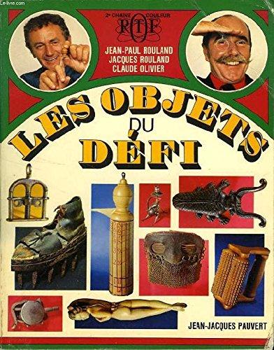 """9782720200229: Les Objets du """"Défi"""" (French Edition)"""