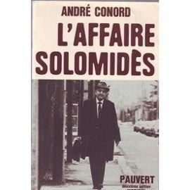 L'Affaire Solomidès: Conord (André)