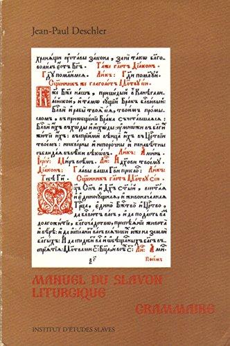 9782720403088: Manuel du slavon liturgique / grammaire / = kratkij oucebnik� cerkovno-slovenskago azyka / = gramati