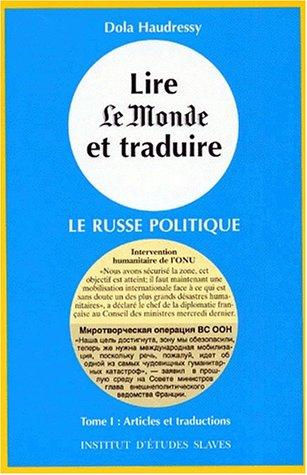 9782720403101: Lire Le Monde et traduire. Tome 1 et 2