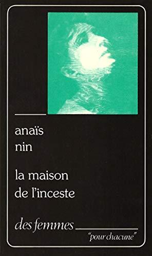 La maison de l'inceste p (9782721001535) by Anaïs Nin