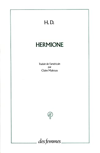Hermione b (French Edition) (2721003011) by H. D.