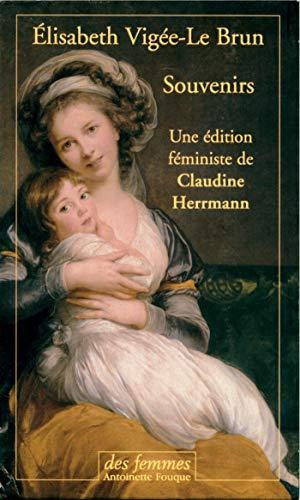 Souvenirs (2 volumes) Elisabeth Vigee-Lebrun and Herrmann,: Vigée Le Brun,