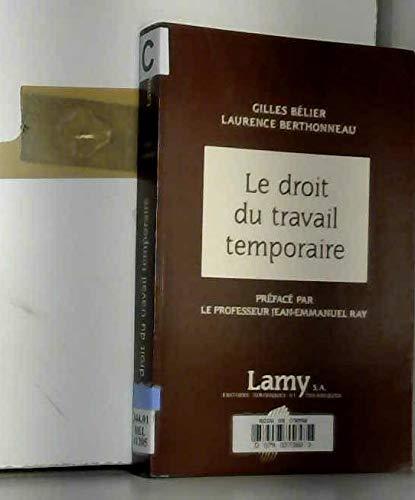 9782721203823: Droit du Travail Temporaire