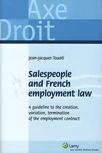salespeople and french employment law: Jean-Jacques Touati
