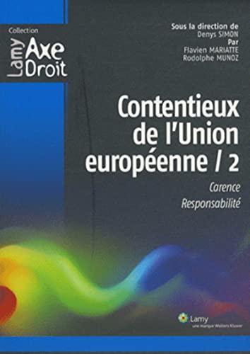 Contentieux de l'Union européenne 2 (French Edition): Collectif