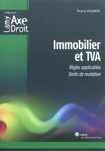 9782721213709: Immobilier et TVA (French Edition)