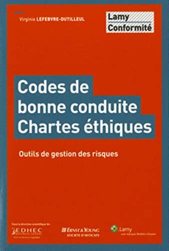 code de bonne conduite charte ethique: Virginie Lefebvre-Dutilleul