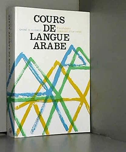 9782721470287: Cours de langue arabe