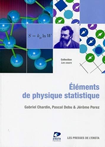 9782722509313: Eléments de physique statistique