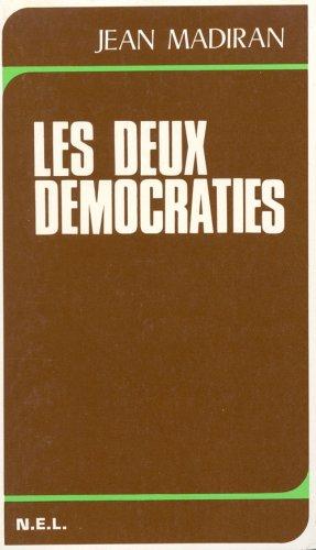 9782723300247: Les deux d�mocraties