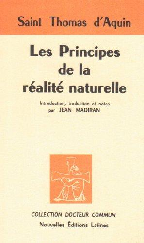 9782723304832: les principes de la realite naturelle