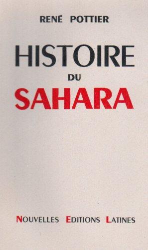 Histoire du Sahara: Pottier R