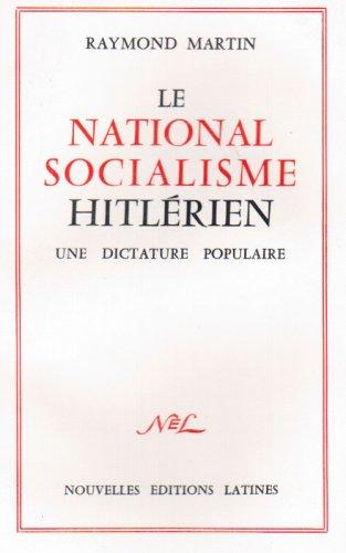 9782723312141: Le National-Socialisme Hitlerien
