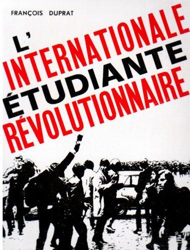 9782723314954: L Internationale Etudiante Révolutionnaire