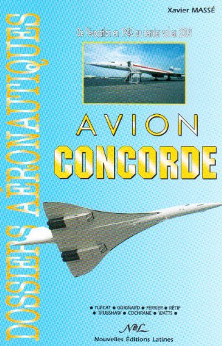 9782723320450: Avion Concorde (French Edition)