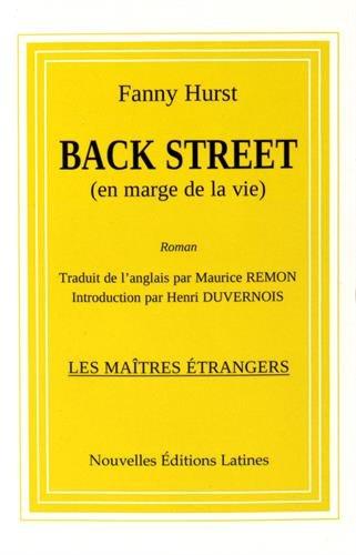 Back Street (en marge de la vie) - Hurst, Fanny