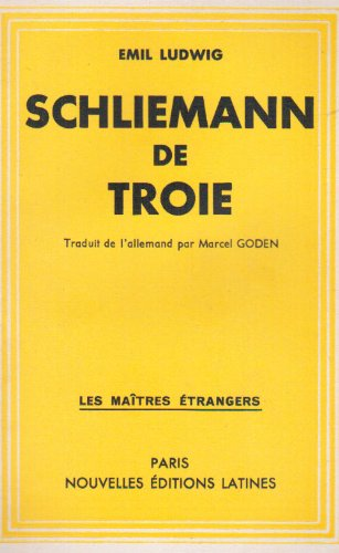 Schliemann de Troie (French Edition) (9782723398787) by [???]