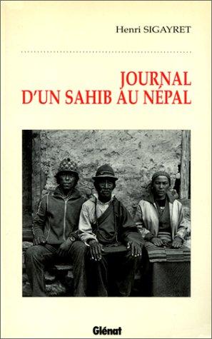 9782723420815: Journal d'un sahib au Népal