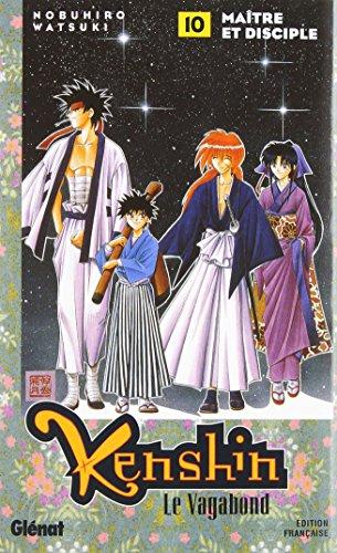 9782723430975: Kenshin le vagabond, tome 10 : Maître et Disciple