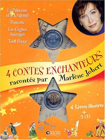 9782723448888: Quatre contes enchanteurs : La Princesse et le Crapaud ; Poucette; Les Cygnes sauvages ; Tom Pouce (2CD audio)