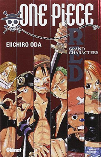 One Piece Red, Grand Characters (French Edition): Eiichiro Oda