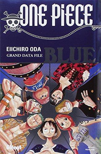 9782723450263: One pièce - blue - one pièce data book (Manga)