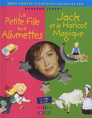 9782723451437: La Petite Fille aux allumettes ; Jack et le Haricot magique (1CD audio)