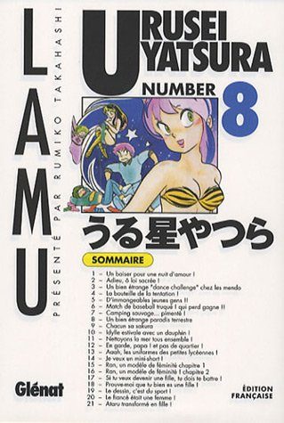9782723454438: Urusei Yatsura - Lamu Vol.8