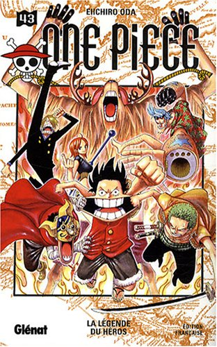 One Piece, Tome 43 (French Edition) (9782723463355) by EIICHIRO ODA