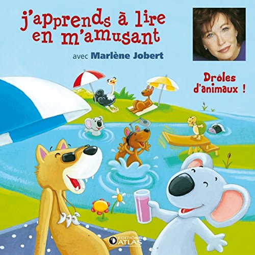 9782723484404: J'apprends a lire en m'amusant : Drôles d'animaux ! (2CD audio)
