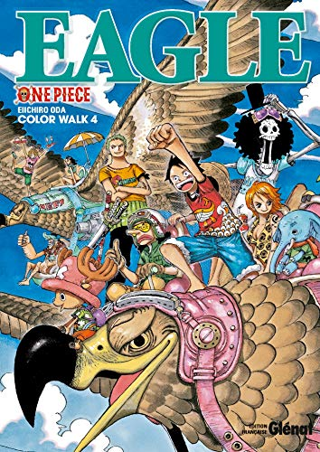 9782723488181: One Piece Color Walk - Tome 04: Eagle