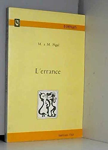 9782723500265: L'Errance
