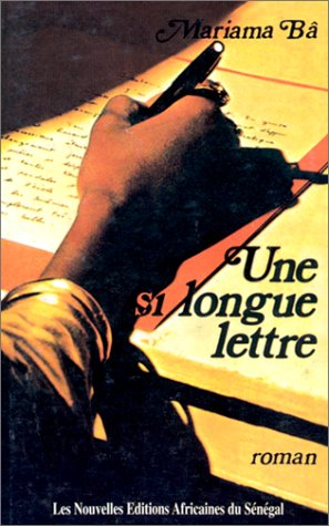 Une Si Longue Lettre (French Edition): Mariama Ba
