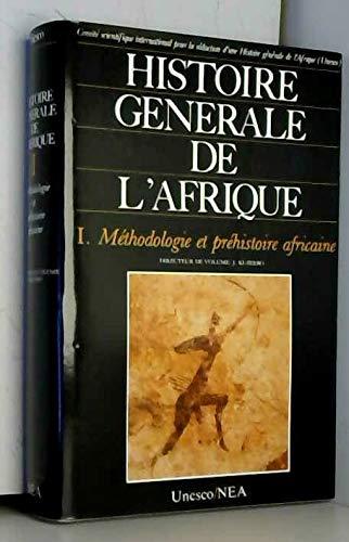 9782723610599: Histoire generale de l'afrique v1 méthodologie et prehistoire africaine