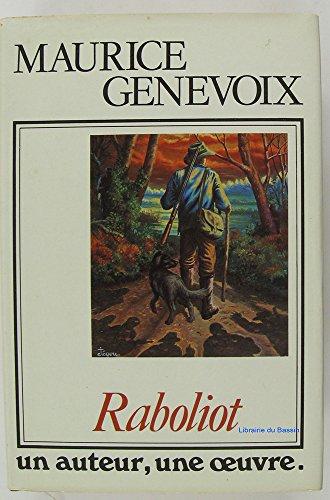9782724204360: Raboliot (Un Auteur, une oeuvre)