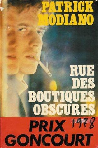 9782724205336: Rue des boutiques obscures
