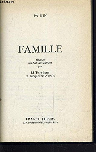 9782724206852: Famille